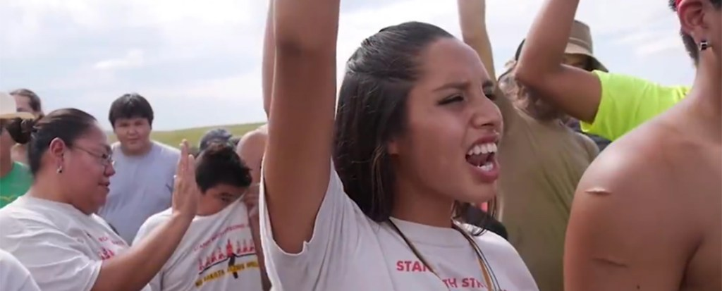 WATCH: Standing Rock Sioux Tribe Protest at the Dakota Access Pipeline