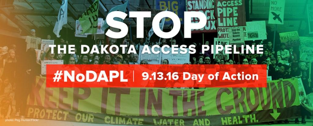 #NoDAPL: Dakota Access Pipeline Day of Action is Sept. 13