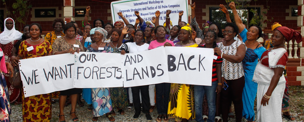 'We Want Our Lands Back': Women Worldwide Fight Expansion of Industrial Oil Palm Plantations