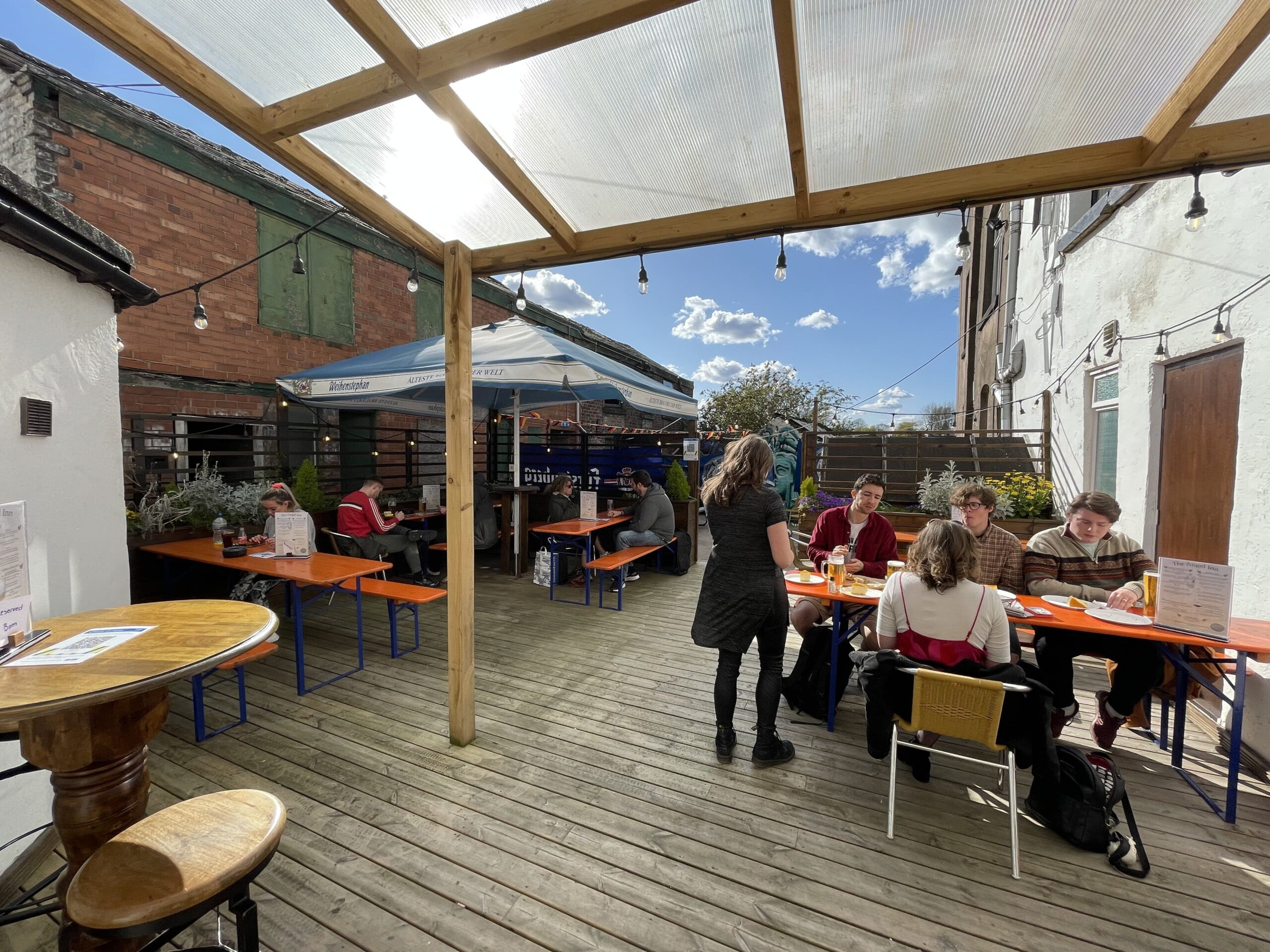 Stockport Town Centre's Best Outdoor Drinking Spots