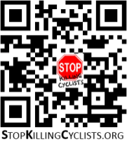 A quick response (QR) code that when scanned with an appropriate application on your smart-phone will take you to this website.