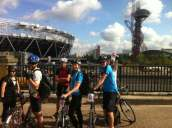 At the Olympic Park