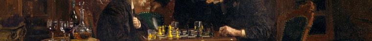 The Chess Players, Thomas Eakins, 1876