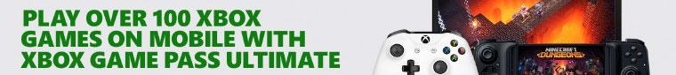 Xbox Game Pass header