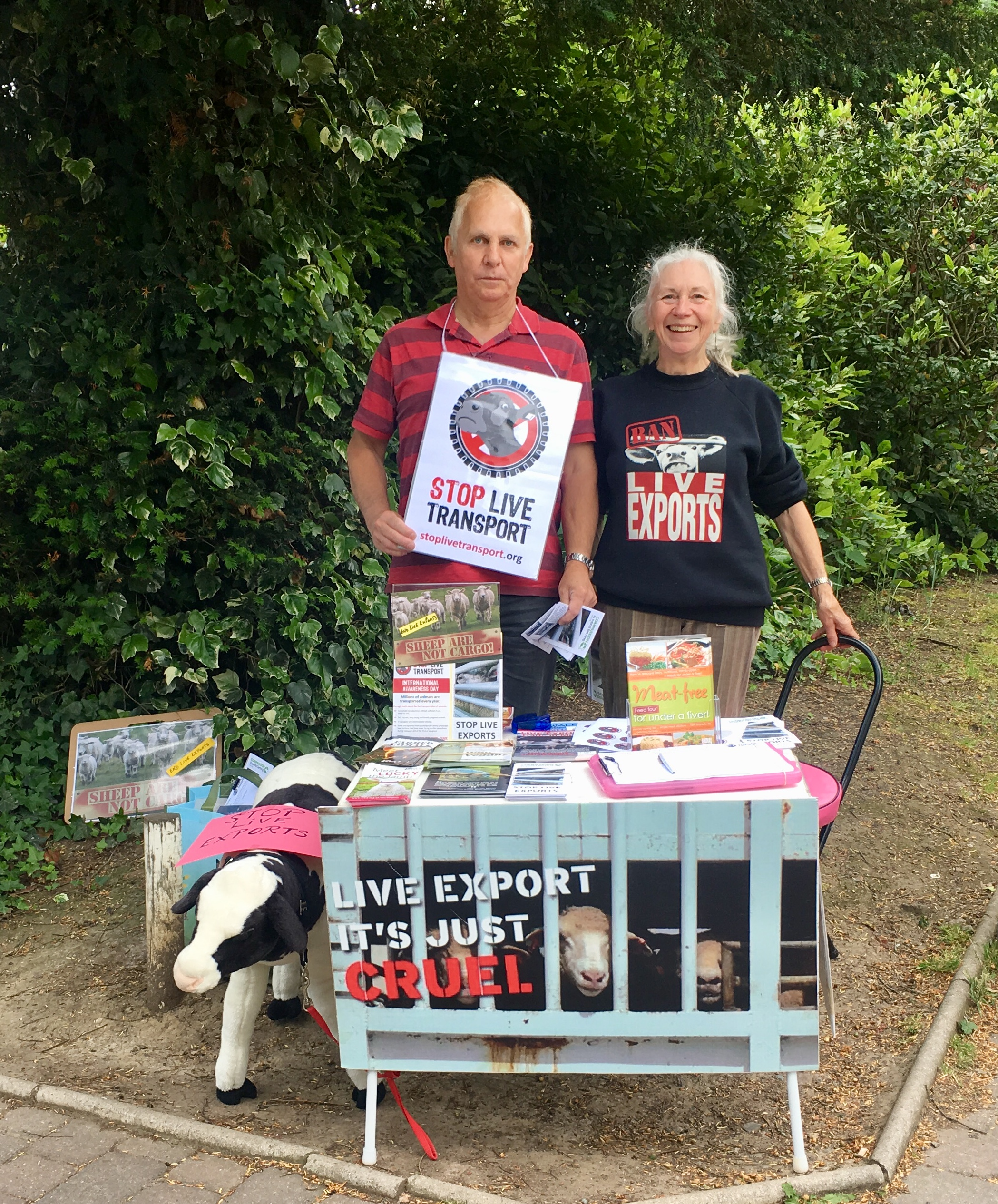 Stop Live Transport Day of Action 2018