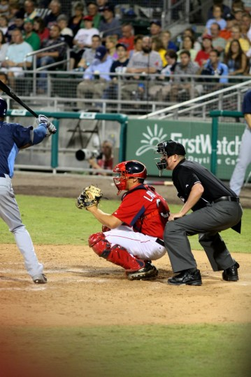 Lavarnway in action