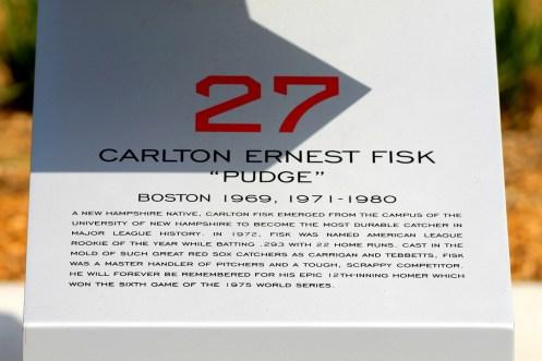 Retired Numbers-Carlton Fisk