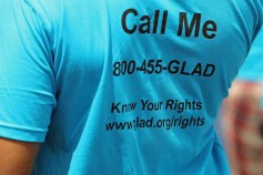 GLAD Know Your Rights Tee