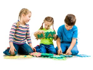 3030061-85530-children-are-playing-letters-on-the-white-background
