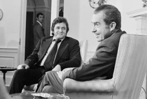 Johnny Cash And Nixon