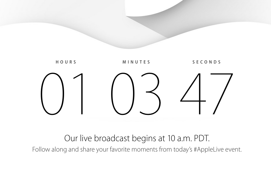 Apple Event - 10am PST