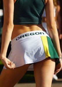 Maybe if the cheerleaders weren't dressed so sexy, the team could have avoided self-rape.