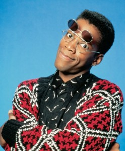 "actor Kadeem Hardison. Photo, courtesy of ""A Different World"""