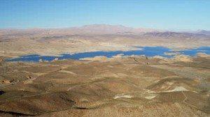 stock-footage-aerial-view-lake-mead-desert-mountain-landscape-southeast-of-las-vegas-nevada-arizona-usa