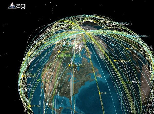 SatellitesauPoleNord