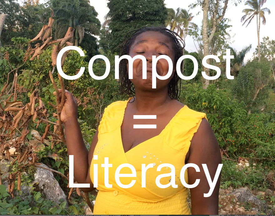 compost equals literary