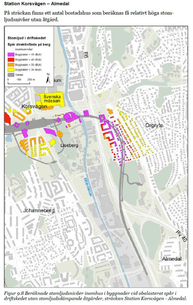 Liseberg – Jakobsdal – Almedal