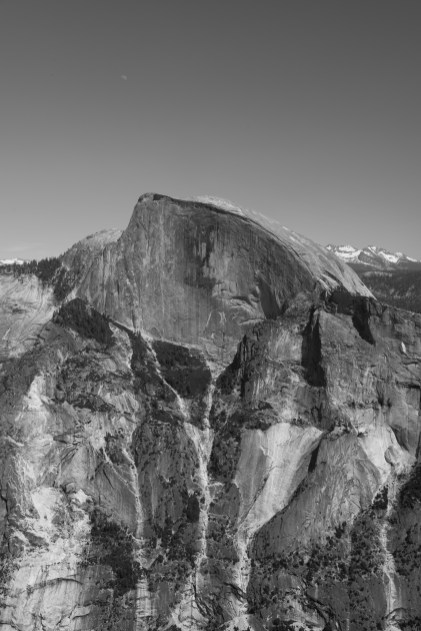 View of Half Dome from North Dome