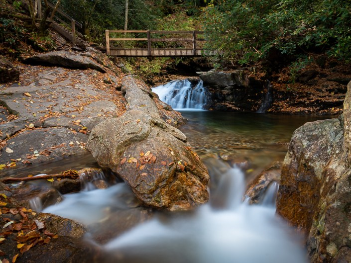 Skinny Dip Falls, North Carolina