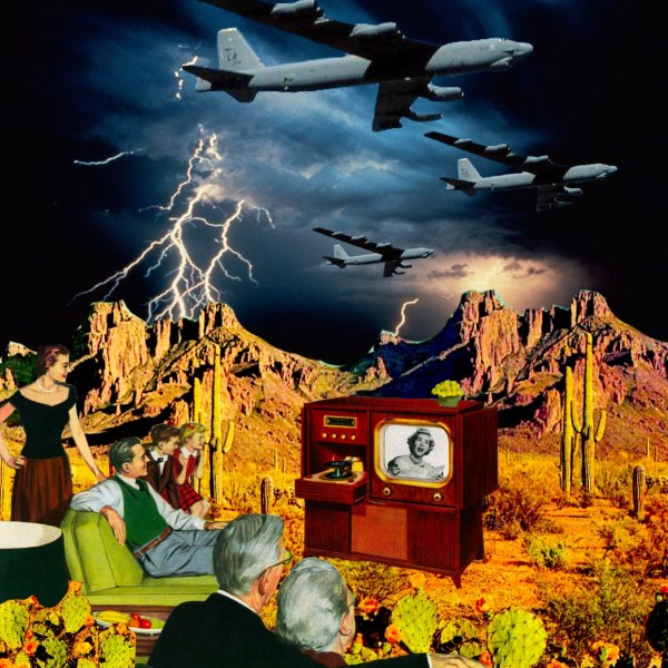 people watching tv during end times
