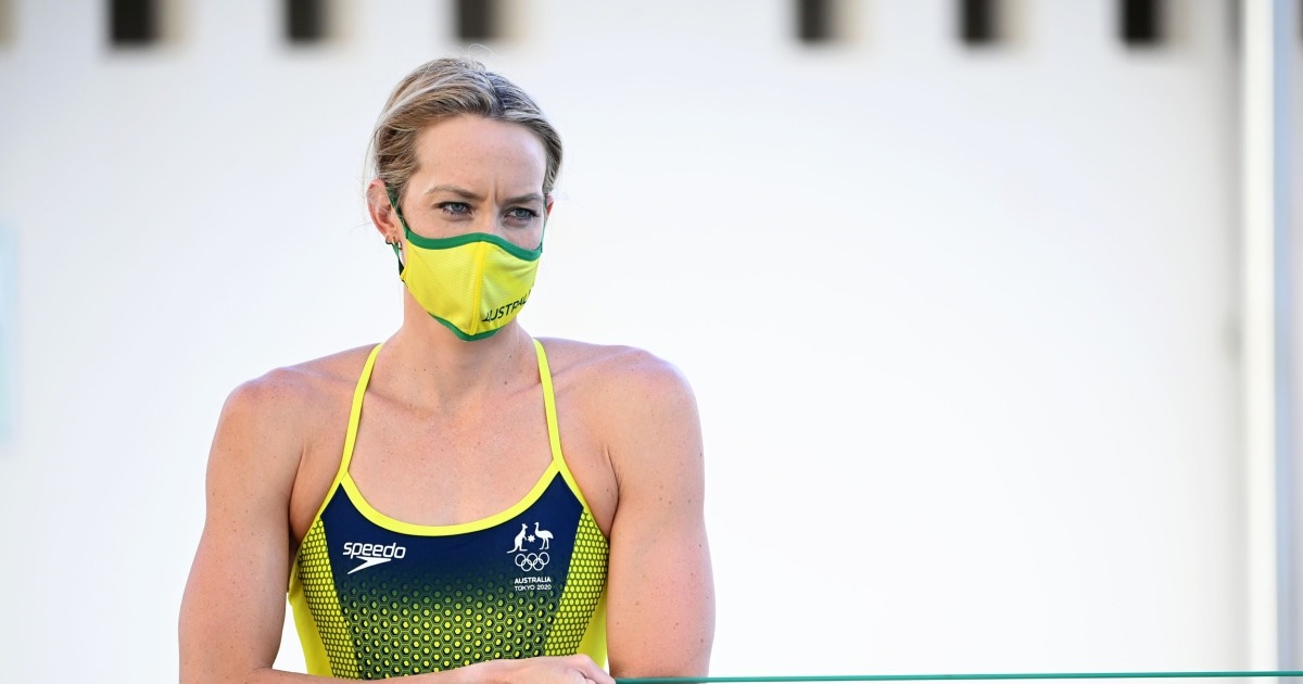 Australian Olympic swimmer Madi Wilson hospitalized with Covid in Italy