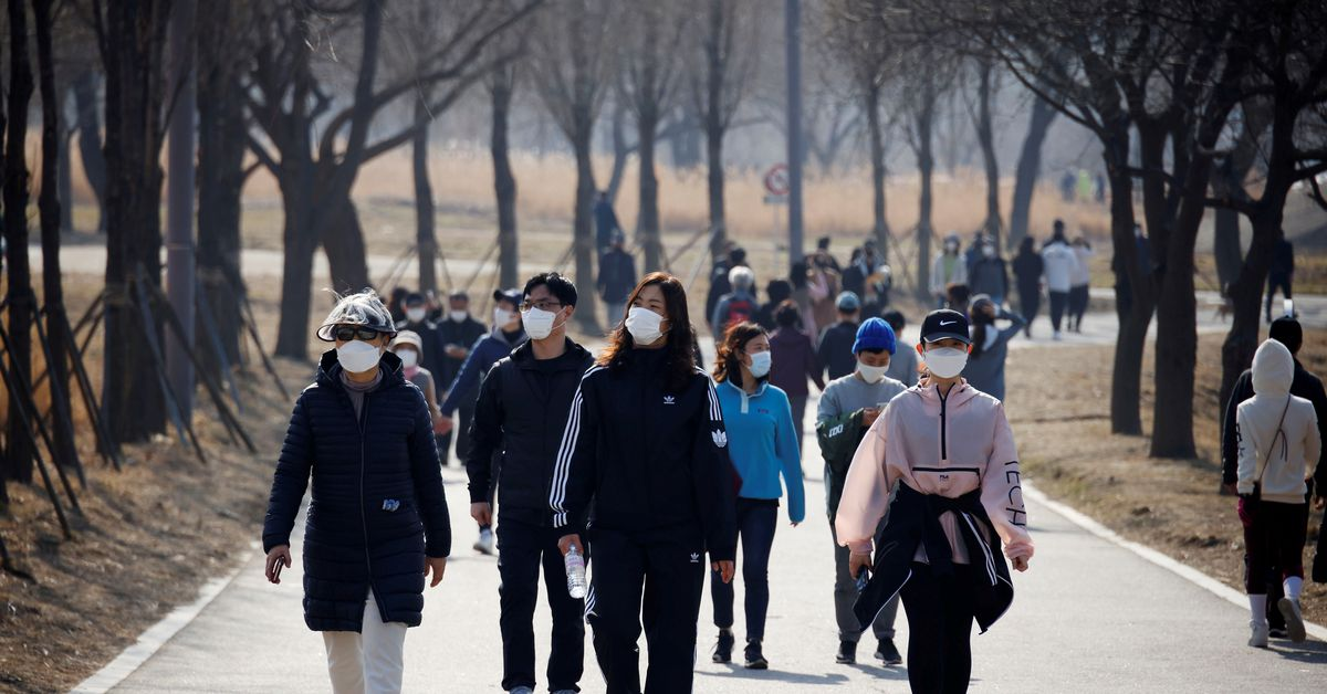 S.Korea reports record daily COVID-19 cases; planning how to live with COVID-19