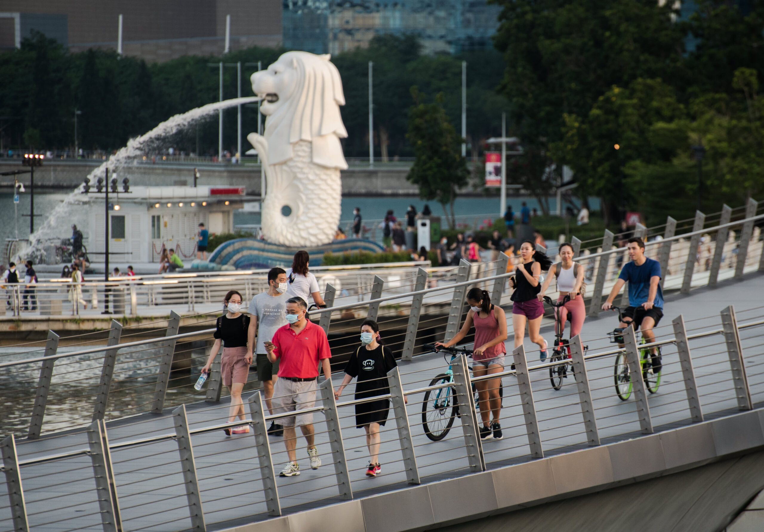 Singapore refrains from tightening measures even as cases rise