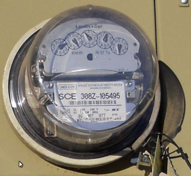 Analog Meter - Solar Feed In 1