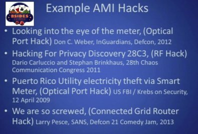 Smart Meter Example AMI Hacks