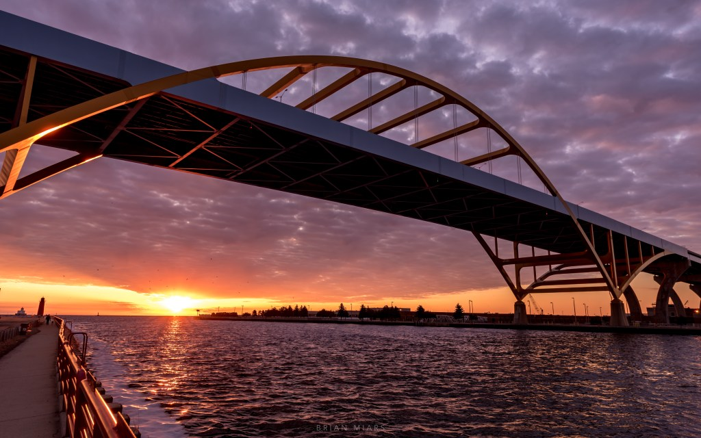 All That Separates You: Suicide Barriers On the Hoan Bridge