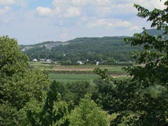 The rural setting of Schoharie, NY