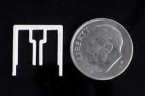 Aereo's over the air antenna is about the size of a dime.
