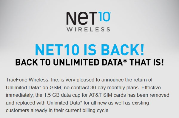 Net10-Unlimited-Data-confirmation