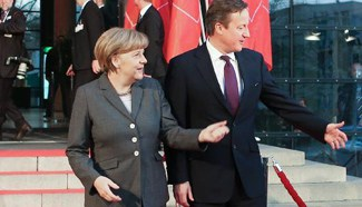 Chancellor Angela Merkel and Prime Minister David Cameron