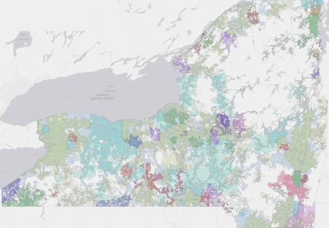 New York's Broadband Availability Map