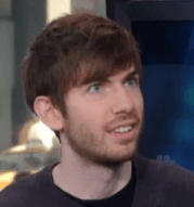 Uh oh... deer in headlights moment for Tumblr founder David Karp.