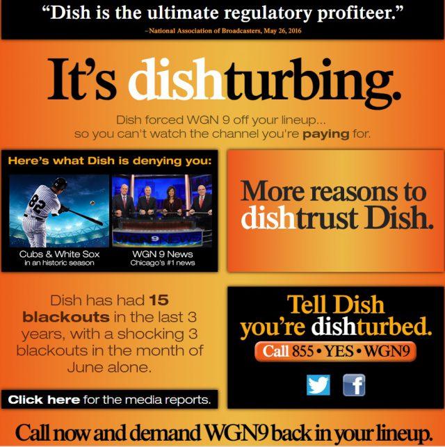 dish dispute