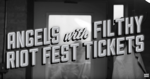 ANGELS with FILTHY RIOT FEST TICKETS