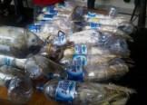 Burung-kakaktua-jambul-kuning-diselundupkan-dalam-botol-plastik-air-minum-diamankan-petugas-dari-Polres-Pelabuhan-Tanjung-Perak-Surabaya-300x216