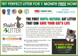Cats - Medical litter free trial offer