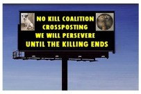 Homeless pets - Kill billboard