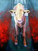 Factory farming - dairy calves killed