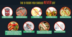 Message - Foods toxic should never eat