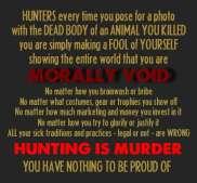 Trophy hunters - Revenge morally void 1 USE