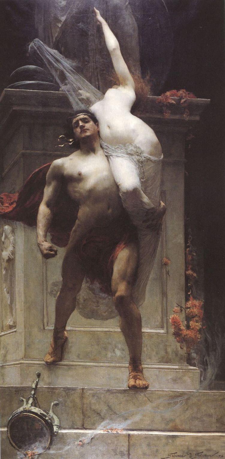Ajax and Cassandra painting