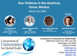 Webinar: Gun Violence in the Americas: Focus on Mexico