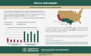 Read more about the article Infographics on the Illegal Gun Trade to Mexico