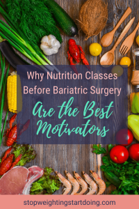 A table full of nutritious foods like tomatoes, corn, green onions, coconut and lobster. Why Nutrition Classes Before Bariatric Surgery Are the Best Motivators | Graphic | nutrition classes near me, health and nutrition classes