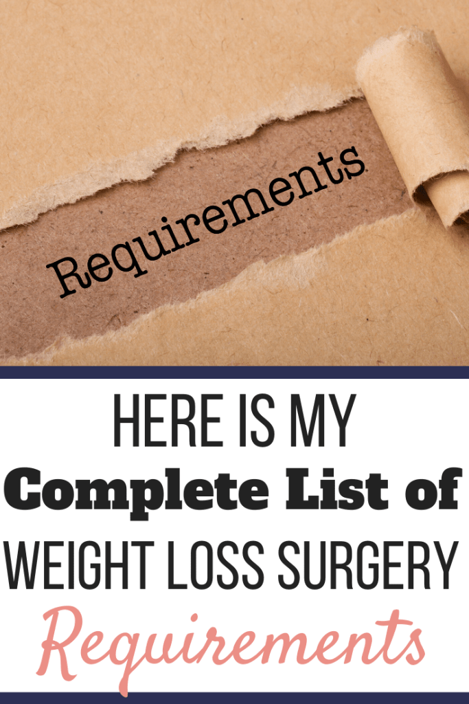 A brown piece of packaging paper ripped with the word Requirements showing beneath it. | Here is My Complete List of Weight Loss Surgery Requirements | Bariatrics | Image | Requirements for Weight Loss Surgery, Bariatric Surgery Requirements, Gastric Sleeve Requirements