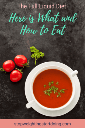 A bowl of tomato soup surrounded by cherry tomatoes and parsley flakes. The Full Liquid Diet: Here is What and How to Eat | Plus 5 Recipes | Graphic | Full liquid diet menu, full liquid diet plan for weight loss, foods for full liquid diet